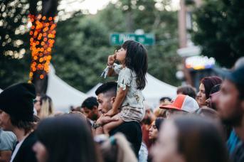 Crowd. Photo by Jake Hanson.