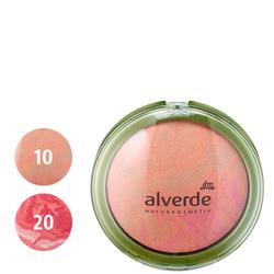 alverde Gebackenes Rouge (10 Peachy Bronze, 20 Orchid Pink)