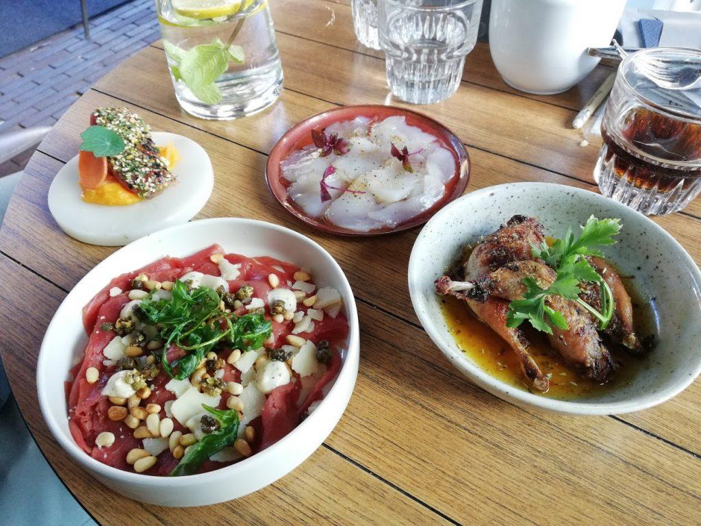 Vlees, vis en vegetarische gerechten van Arneym in Arnhem