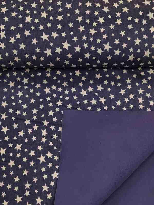 Softshell Sterne Jeansoptik