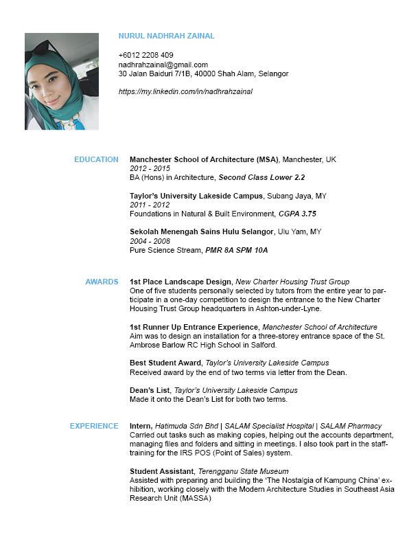 CV wordpress