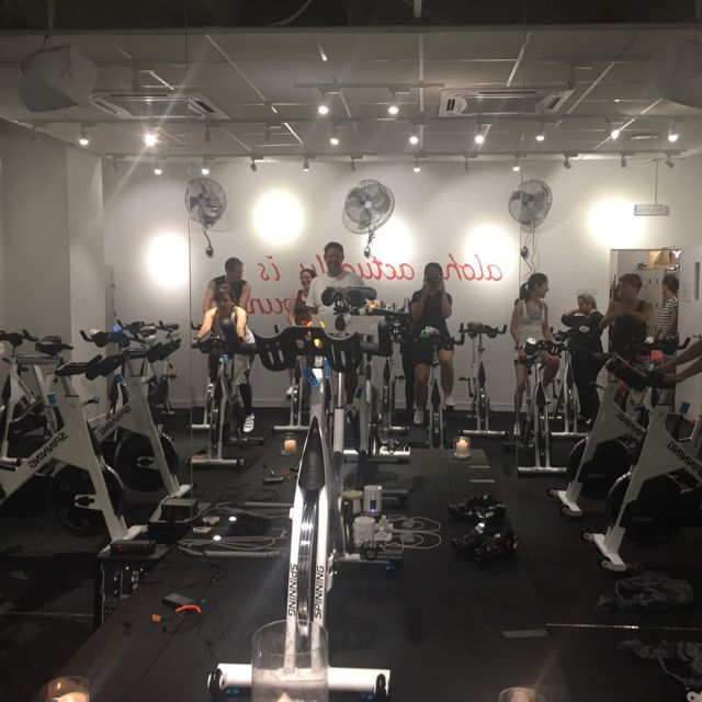 Went straight to a spinning class taught by jamiliyana withhellip