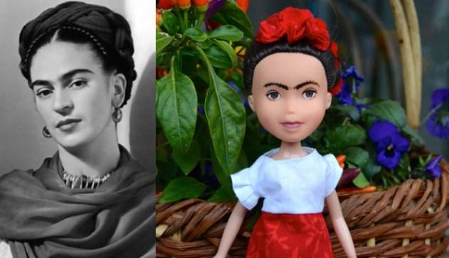 Frida Kahlo as a doll 2
