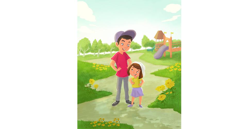 Book cover for Capstone Publishing / Illustrator Nadia Ronquillo