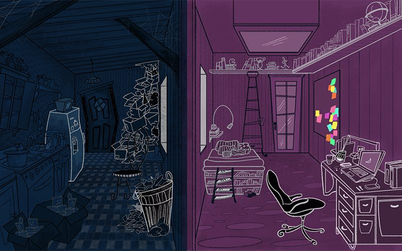 Background design and color, collaboration with Cocoa Lopez studio.