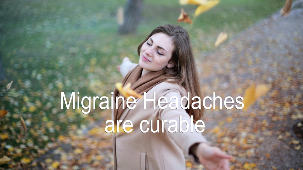 Migraines are curable