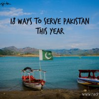 18 Ways to Serve Pakistan This Year