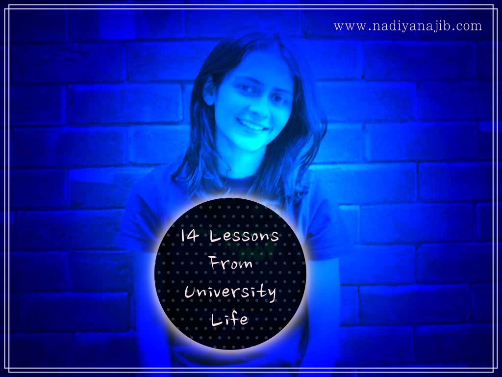 14 Lessons from University Life