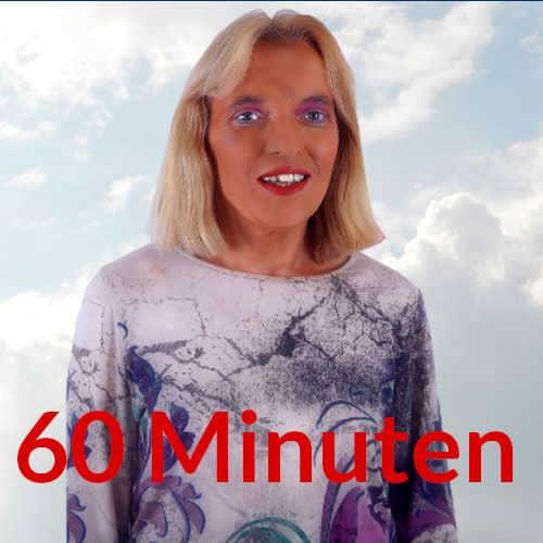 Spirituelle Beratung spirituelle Lebensberatung 30 Minuten Engelmedium Nadja Hafendörfer vor Wolken
