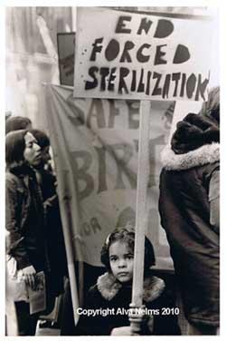 sterilization protest america