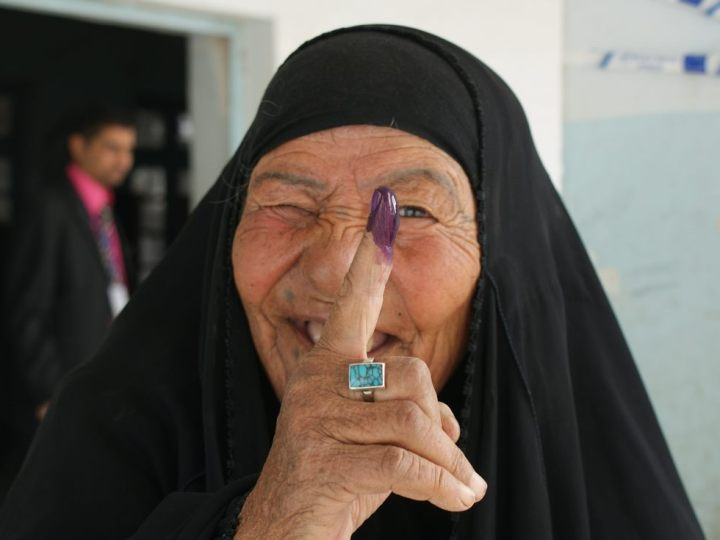 Women Standing In Iraq Election Battling Abuse