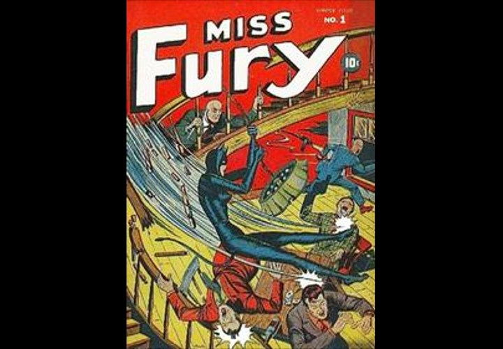 Tarpe Mills, 1940s comic writer, and her feisty superhero Miss Fury