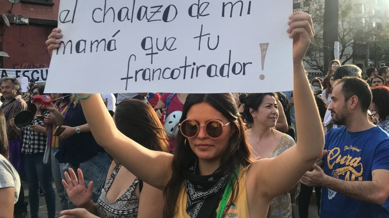 Chilean protests and women: One of the historic debts of pseudo democracy