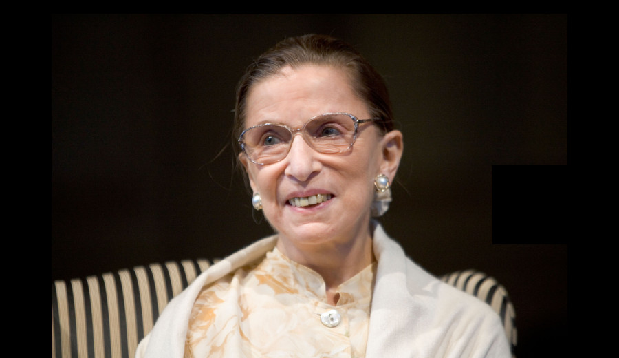 Ruth Bader Ginsburg forged a new place for women in the law and society