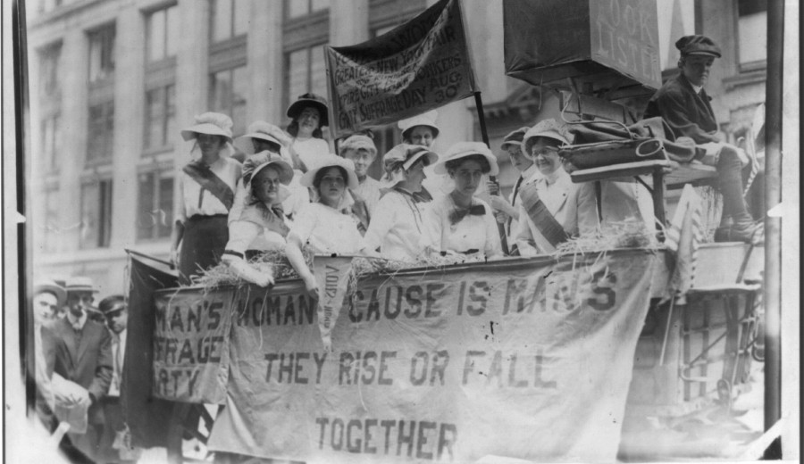 What is suffragette white? The colour has a 110-year history as a protest tool