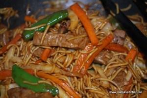 Thai Beef Ginger & Lemon wok