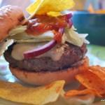 Crunchy Salsa Burger