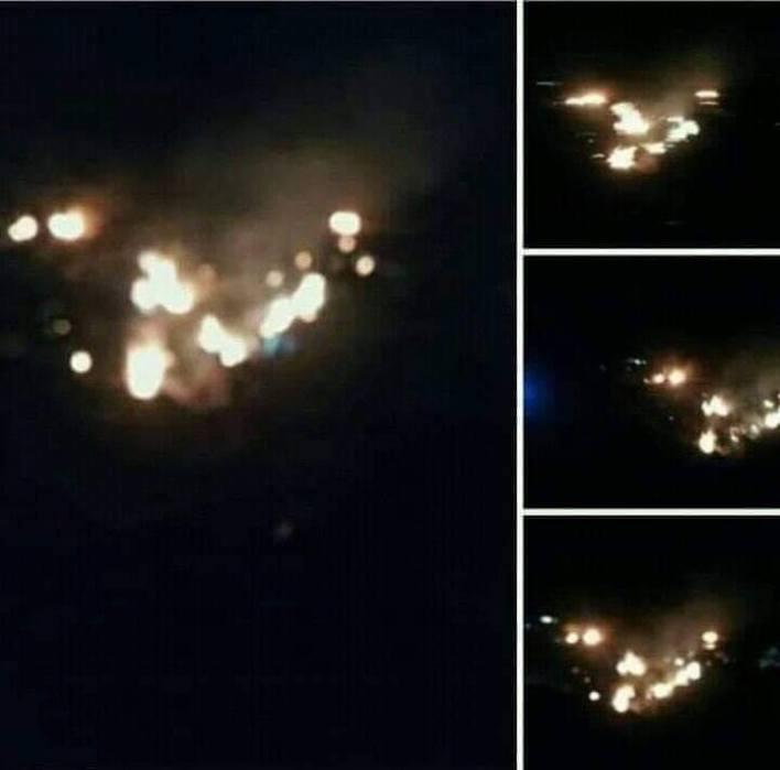 سقوط طائرة عسكرية أم البواقي