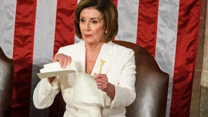 نانسي بيلوسي ترامب