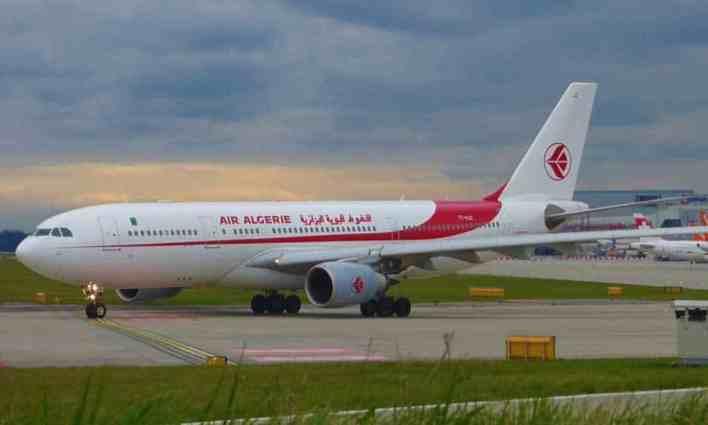 الجوية الجزائرية كورونا