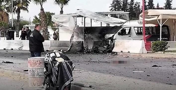 تونس تفجير انتحاري السفارة الأمريكية
