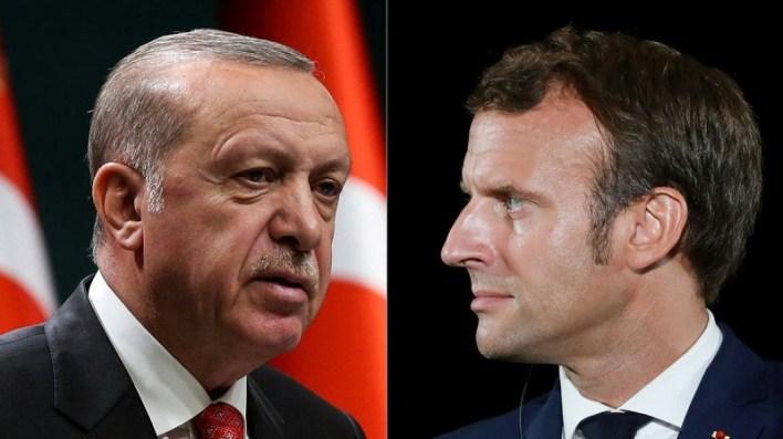 ماكرون أردوغان