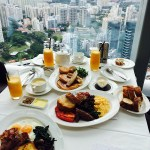 Weekend Brunch with a view at Salt Grill & Sky Bar