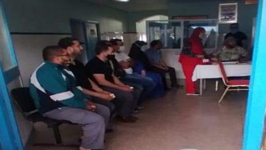 الهلال الأحمر المغربي بالناظور يواصل انخراطه في العملية الوطنية للتلقيح ضد فيروس كورونا