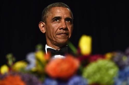 Obama at Washington Correspondents Dinner