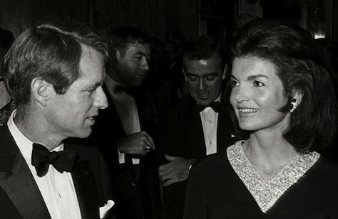 Bobby and Jackie Kennedy