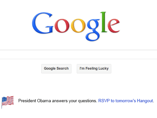 Google pimps for Obama