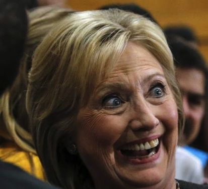 Hillary is maniacal