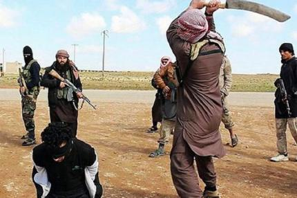 ISIS execution by sword
