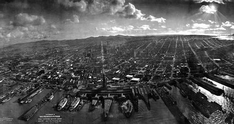 San Francisco after 1906 earthquake