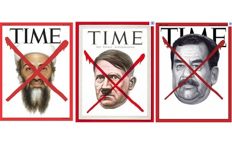 Time: Hitler, Saddam Hussein, Osama bin Laden