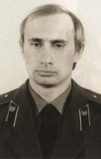 Putin in KGB uniform