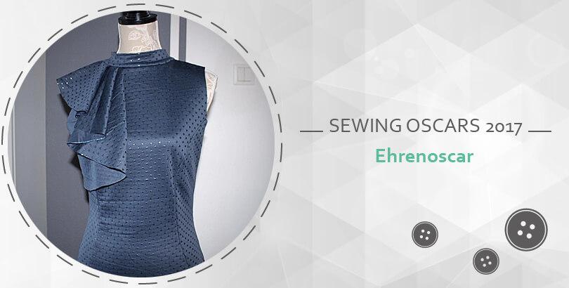 Ehrenoscar, Stoff und Stil, the sewing oscars