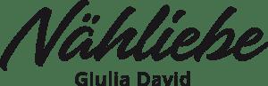 Logo Nähliebe, Giulia David, nähen