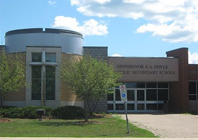 St. Agnes Elementary , Monsignor Doyle Secondary,  Canadian Martyrs Elementary – Catholic Schools