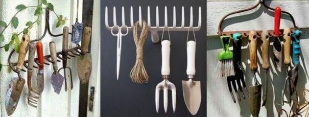 ranger ses outils de jardin des idees