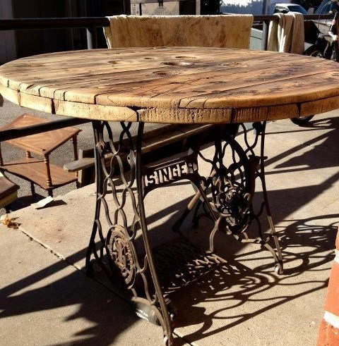 tables de jardin originales insolites
