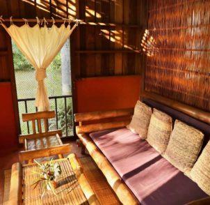 living room deluxe bungalow