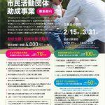 2021年度(第19回)ドコモ市民活動団体助成事業