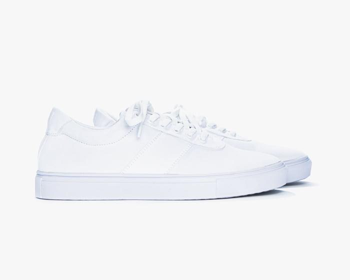 foto sepatu warna putih NML Roza