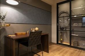 〔趣味室〕趣味室としてプロデュースされた空間は、よりスタイリッシュな仕様に