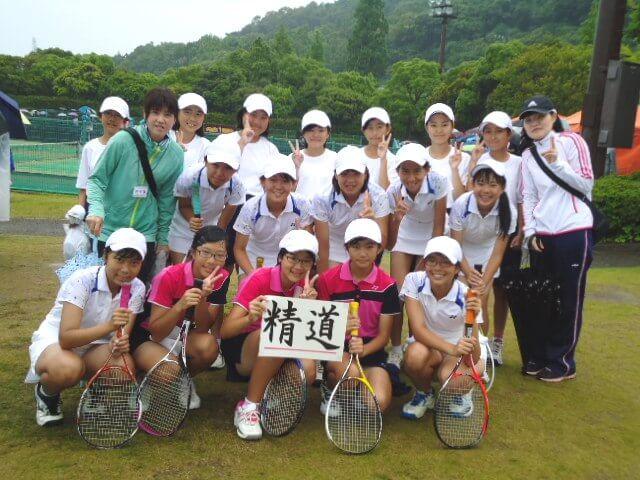 長崎精道中学校 ソフトテニス部