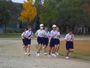 20161207中学校 駅伝1
