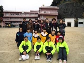 ソフトテニス部「初打ち会」2018