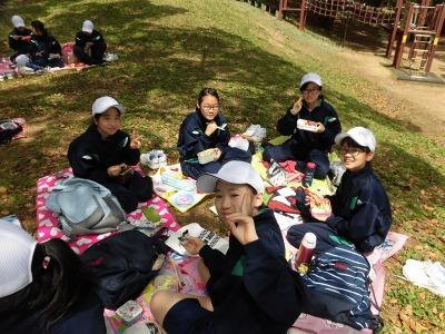 中学校「春の歓迎遠足」2018