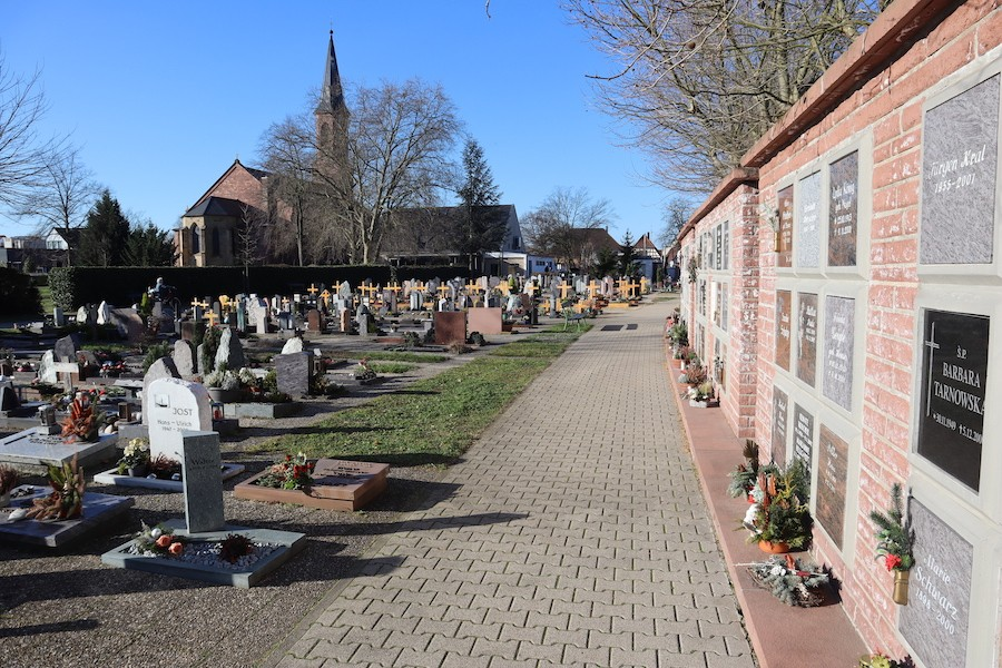 Friedhof Linkenheim - Kolumbarium